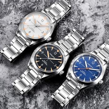 luxury top brand fashion Corgeut 41mm men clock Automatic relogio masculino full steel Sapphire Glass men wristwatch