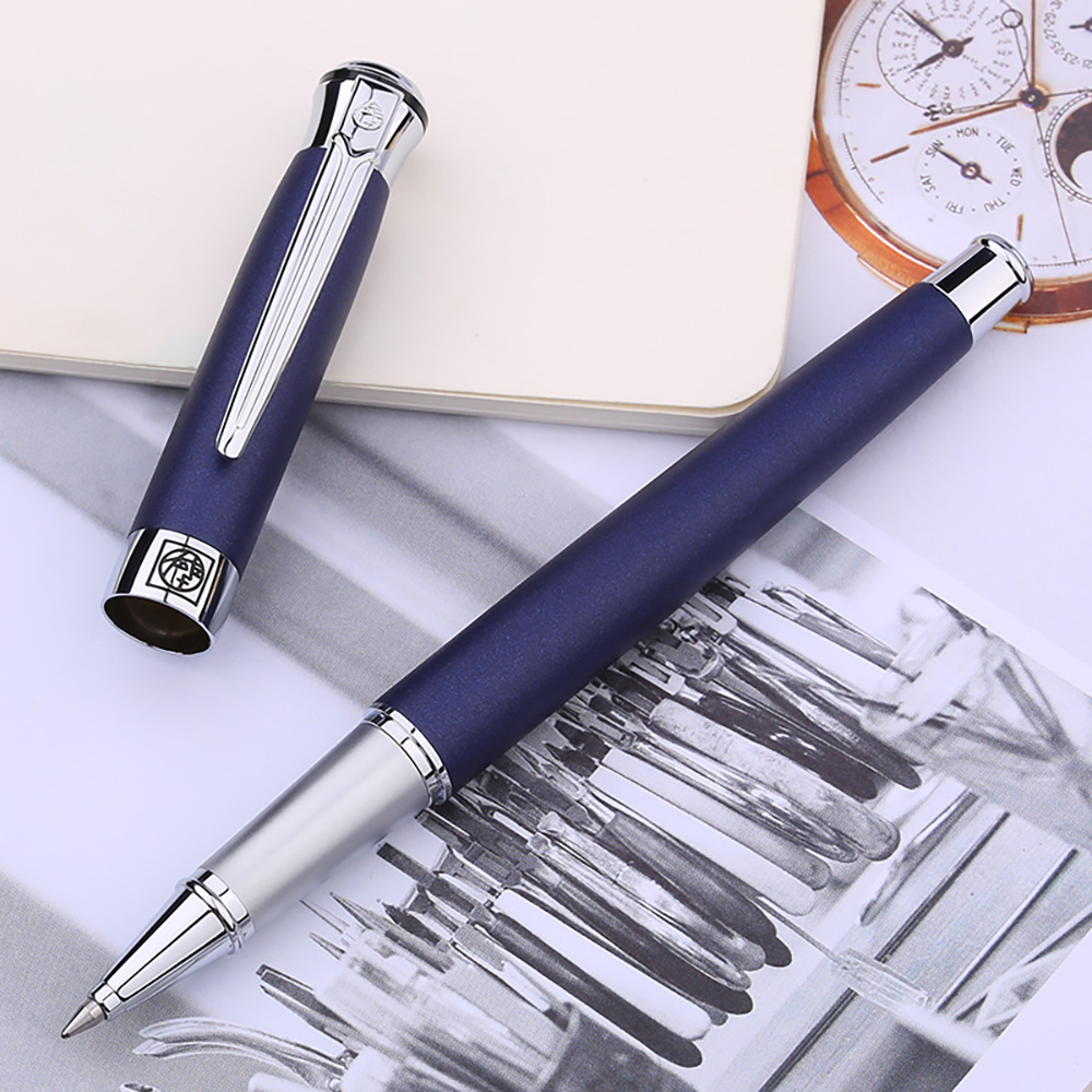 Picasso 903 Roller Ball Pen Flower King Of Sweden With Ink Refill, Multi-Color Optional Office Business School Writing Gift Pen