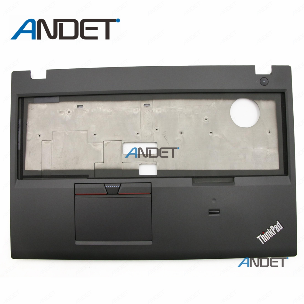 New For Lenovo Thinkpad P50 Upper Case Palmrest Keyboard Bezel With fingerprint