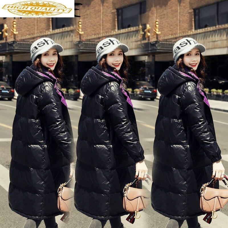 Jacket Women Korean White Duck Down Coat Winter Down Jacket Women Jacket Puffer Jacket Casaco 198021 YY1256
