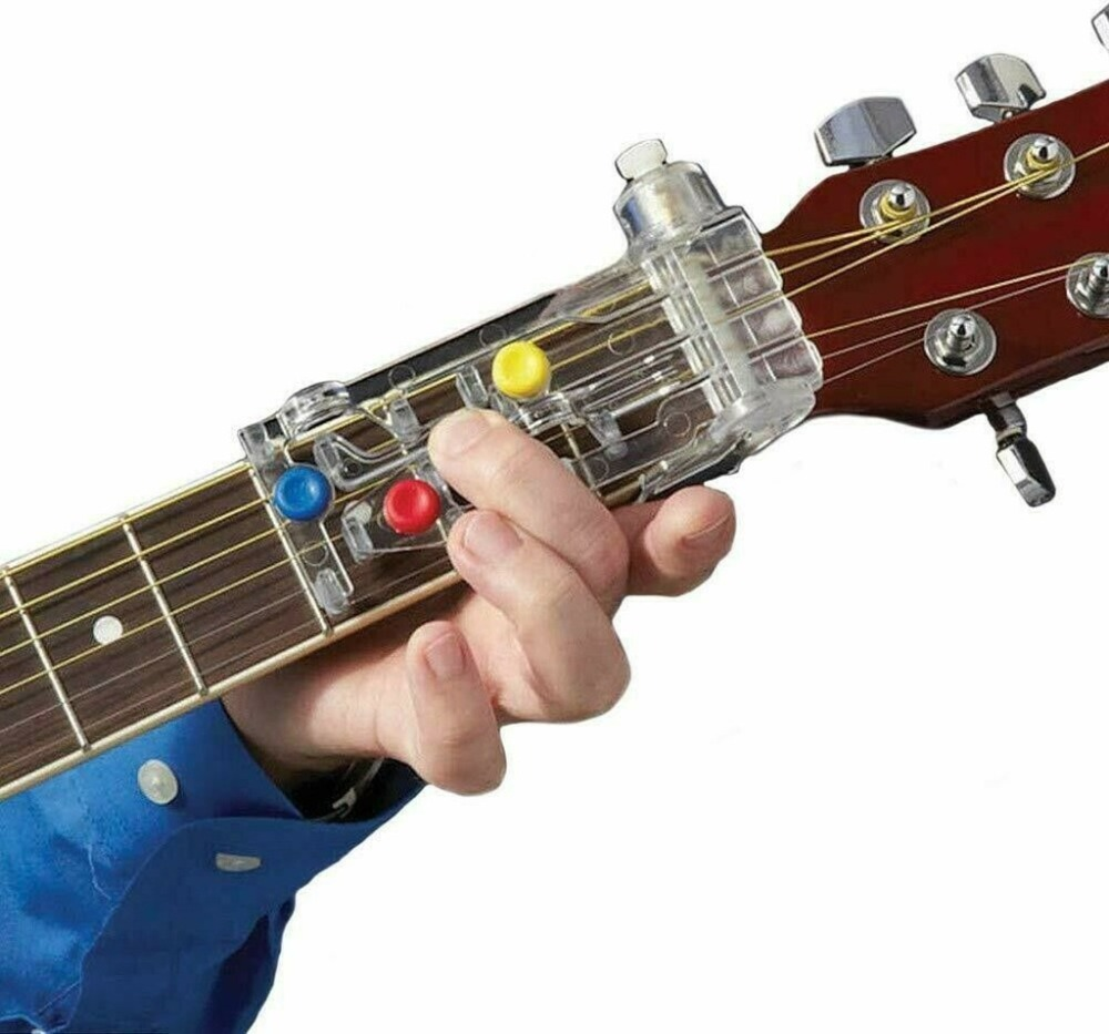 Chord novice lazy artifact pain-proof fingertips finger-assisted guitar assistant guitar learning system teaching 20D18 (11)