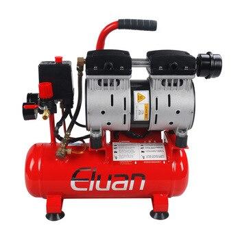 Bez sprężarki powietrza 220V małe narzędzie pompy powietrza do obróbki drewna wyciszenie sprężarki powietrza zawód wysokiej jakości maszyna kompresja powietrza