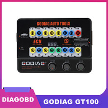 GODIAG narzędzia samochodowe GODIAG GT100 OBD II złącze ECU