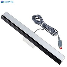EastVita 1PC Wired Infrared IR Signal Ray Sensor High quality Bar/Receiver for Nintendo for Wii Remote movement sensors r29