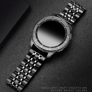 Image 1 - 銀河時計 46 ミリメートルのためのサムスンギアS3 フロンティアストラップGT2 s 3 22 ミリメートルステンレス鋼ブレスレットhuawei社腕時計gt 2 ストラップ 46 ミリメートル 22