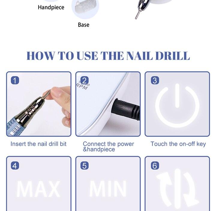 de manicure elétrica para o removedor do
