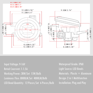 Image 2 - แองเจิลหมอกรถLEDด้านหน้าหมอกโคมไฟDRLสำหรับToyota Land Cruiser Prado Camry Prius C HR CHR Tundra sienna Avalon Solara