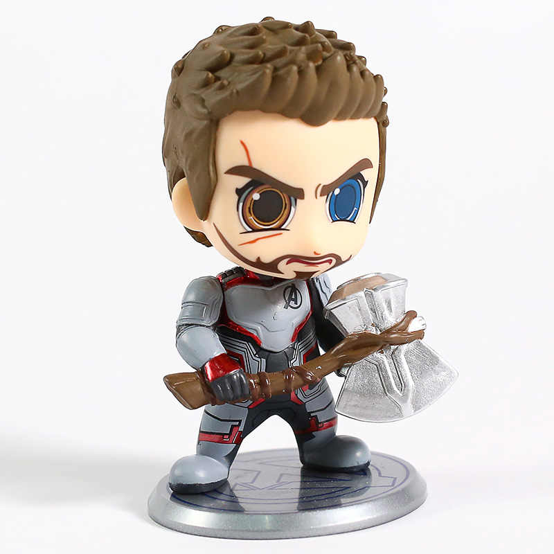 ของเล่นร้อน Avengers Endgame Thor หมอแปลก Hawkeye PVC Action Figure ของเล่นสะสมตุ๊กตา Bobble Head