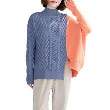 Oladivi/Женский пуловер размера плюс с длинным рукавом Модный