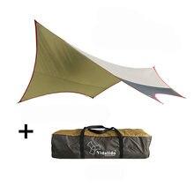 M 500*470cm hiçbir direkleri Vidalido açık ultra büyük gümüş kaplı tente çadır anti-ultraviyole plaj tente tente