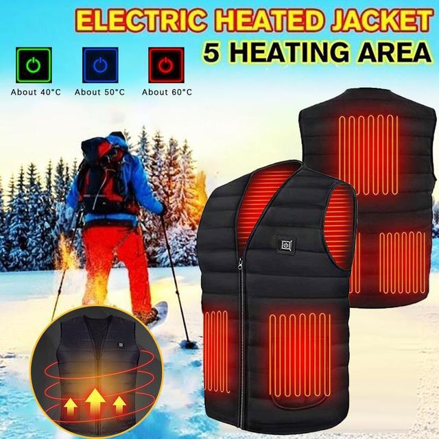 Smart Heating Cotton Vest 4
