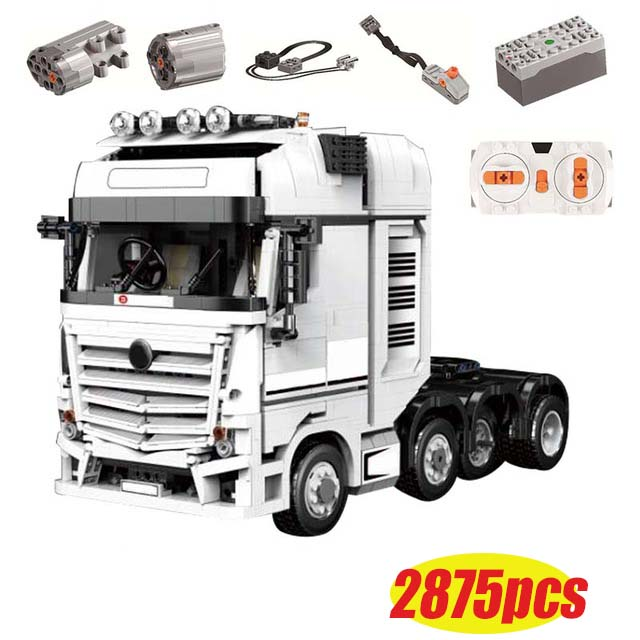 LepinBlocks Truck Car Compatible 42043 Technic Benzs Arocs Model Building Bricks Educational Toys Christmas Gift