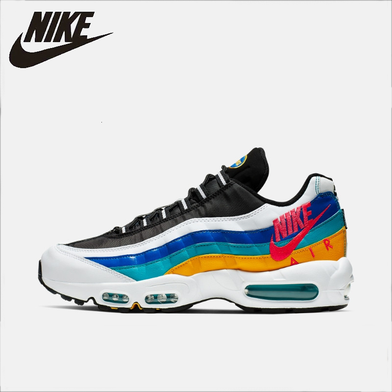 Nike Air Max 95 SE Men Running Shoes New Arrival Casual Air Cushion Outdoor Sports Sneakers  #AJ2018