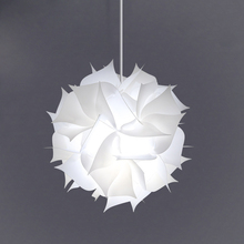 Nordic Flower Modern DIY Elements IQ Jigsaw Puzzle ZE Lamp Ceiling Chandelier Pendant Lamp Ball Light Lighting 30.5cm