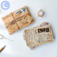 Postcard Stationery Greeting-Gift Vintage-Style Retro YUEGUANGXIA Old-Memories of Creative