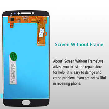 For Motorola LCD Display For Motorola Moto E4 Plus Touch Screen Digitizer Sensor Glass Assembly E4 plus 5.5 inch Frame with