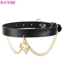 Bcyqz креативный винтажный Модный чокер ожерелье панк готический