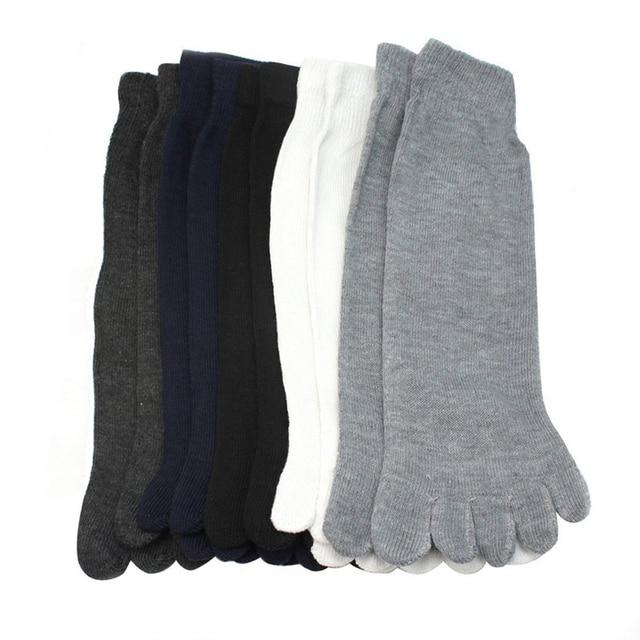Носки мужские хлопковые с пальцами  4