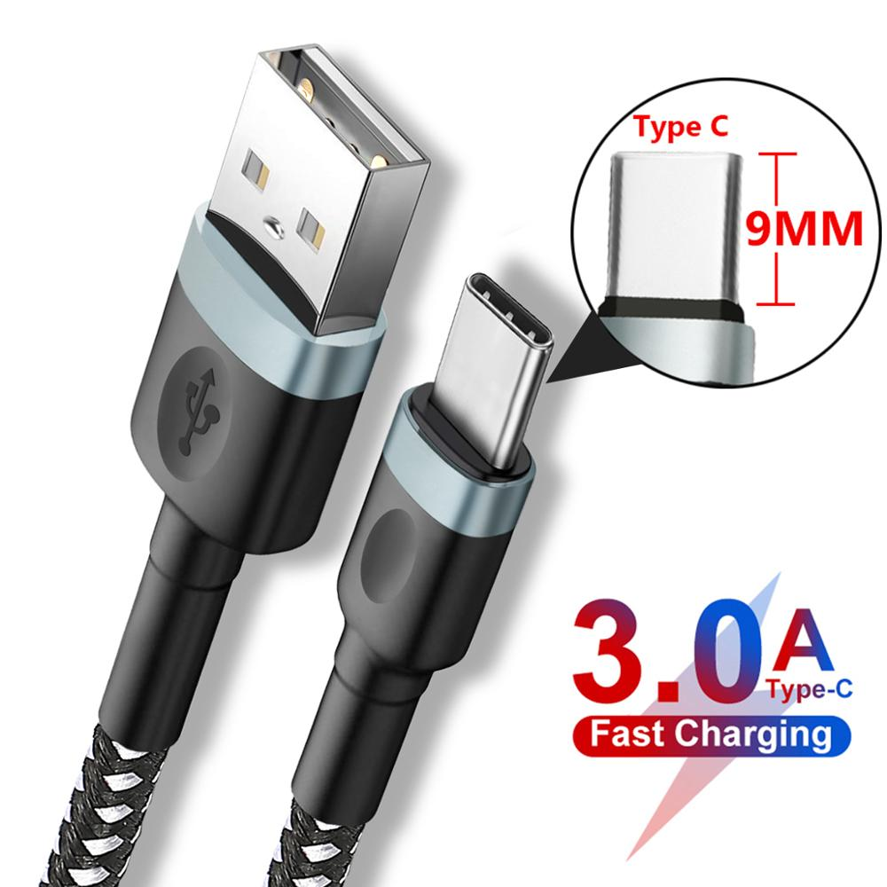 3A быструю зарядку 9 мм длиной Тип USB C Зарядное устройство кабель для Oukitel K10 K6 Blackview P10000 BV9900 BV9600 BV6800 Pro UMIDIGI Зубр