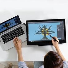 Huion 19.53 pollici Kamvas 20 AG Monitor per Display a penna in vetro Monitor professionale per tavoletta grafica digitale a 8192 livelli