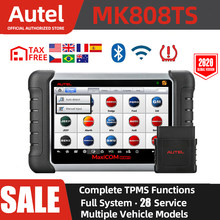 Autel MaxiCOM MK808TS Automotive Diagnostic Tool TPMS OBD2 Scanner TPMS Programming Tool Auto Diagnostic Scanner pk mp808bt