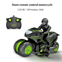 Toy Stunt Drift Rc Motorcycle Motorbike-Model-Kit Remote-Controlled for Boys Car-Toys