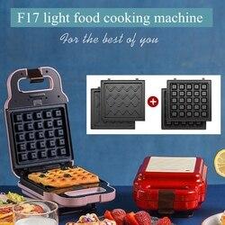 F17 DIY z grilla maszyna śniadanie kanapkę wielofunkcyjny Waffle maszyny domowej roboty z grilla toster