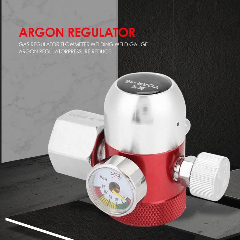 Металлический сварочный газовый счетчик аргоновый регулятор расходомер кислорода редуктор давления воздуха для газовой сварки химической промышленности