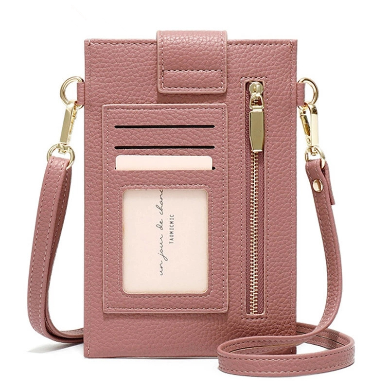Ultra-Thin Colorful Cellphone Bag Designer Mini Shoulder Bag Women Wallet New Cell Phone Case Crossbody Bags Fashion Card Purses
