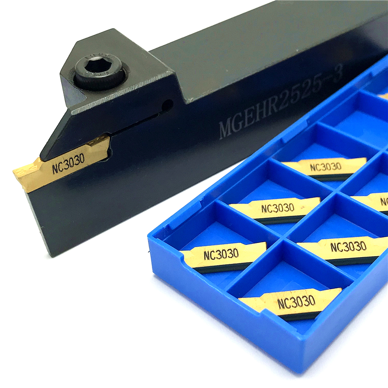 1PCS MGEHR2525-3 Turning Holder +10PCS MGMN300 M Parting And Grooving Turning Tools MGEHR 2525 Carbide Inserts Lathe CNC Tool