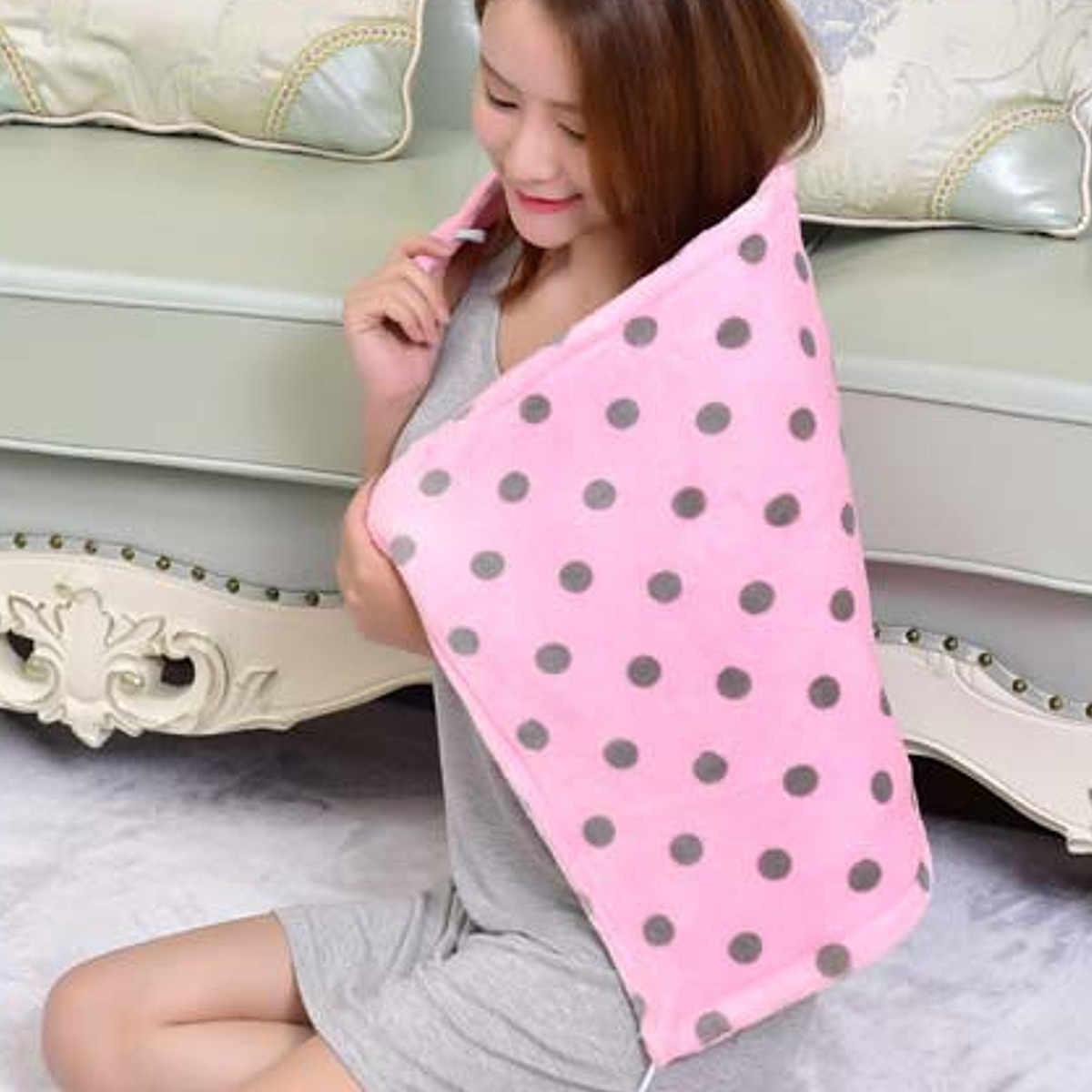 Battaniye peluş çift ısıtmalı battaniye güvenlik elektrikli battaniye kalın tek elektrikli Mat vücut isıtıcı isıtıcı kış ürün