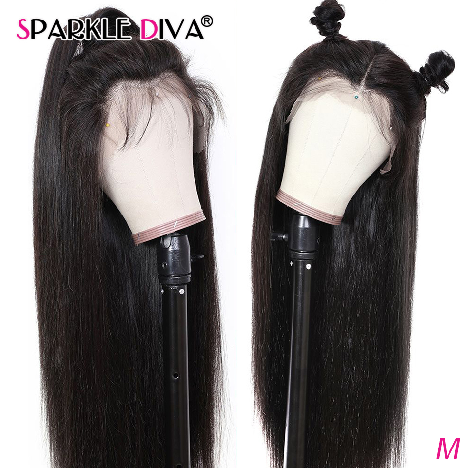 Straight Lace Front Human Hair Wigs 13x4 Brazilian Lace Front Wig Pre Plucked With Baby Hair 150% Remy Human Hair Wigs For Women