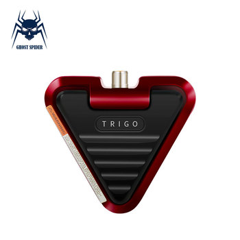 GHOST SPIDER Triangle Tattoo Pedal Aluminum Alloy Pedal Switch  Controller Tattoo Power Supply Machine Foot Switch mini metal foot pedal switch controller tattoo power supply machine footswitch tattoo accessory tools