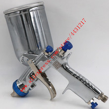 Pistola spray de pintura manual, pistola spray para pintura de móveis, W 101 g, japonesa, 134g, hvlp, w101, pulverizador de ar para pintura de móveis automáticos, 0.8/1.0/1.3/1.5/.8mm, 8mm