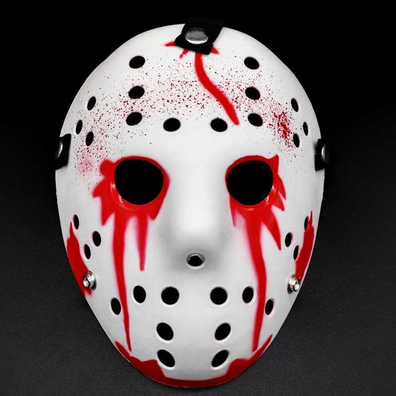 Image 5 - Stylish Jason Voorhees Friday the 13th Horror Hockey Mask Scary Halloween Mask Party MasksParty Masks