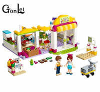 Building Block 10494 Compatible with Legoinglys Friends Heartlake Supermarket Emma Mia Toy For Children Kids toys gifts