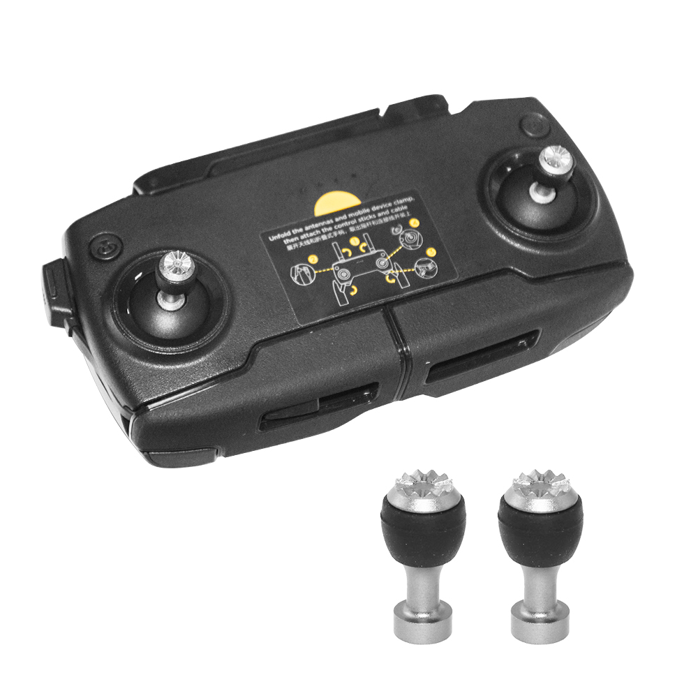 2PCS Controller Sticks For DJI Mavic Mini Air Mavic 2 Pro Zoom Drone Remote Controller Replacement Thumb Rocker Joystick Spare