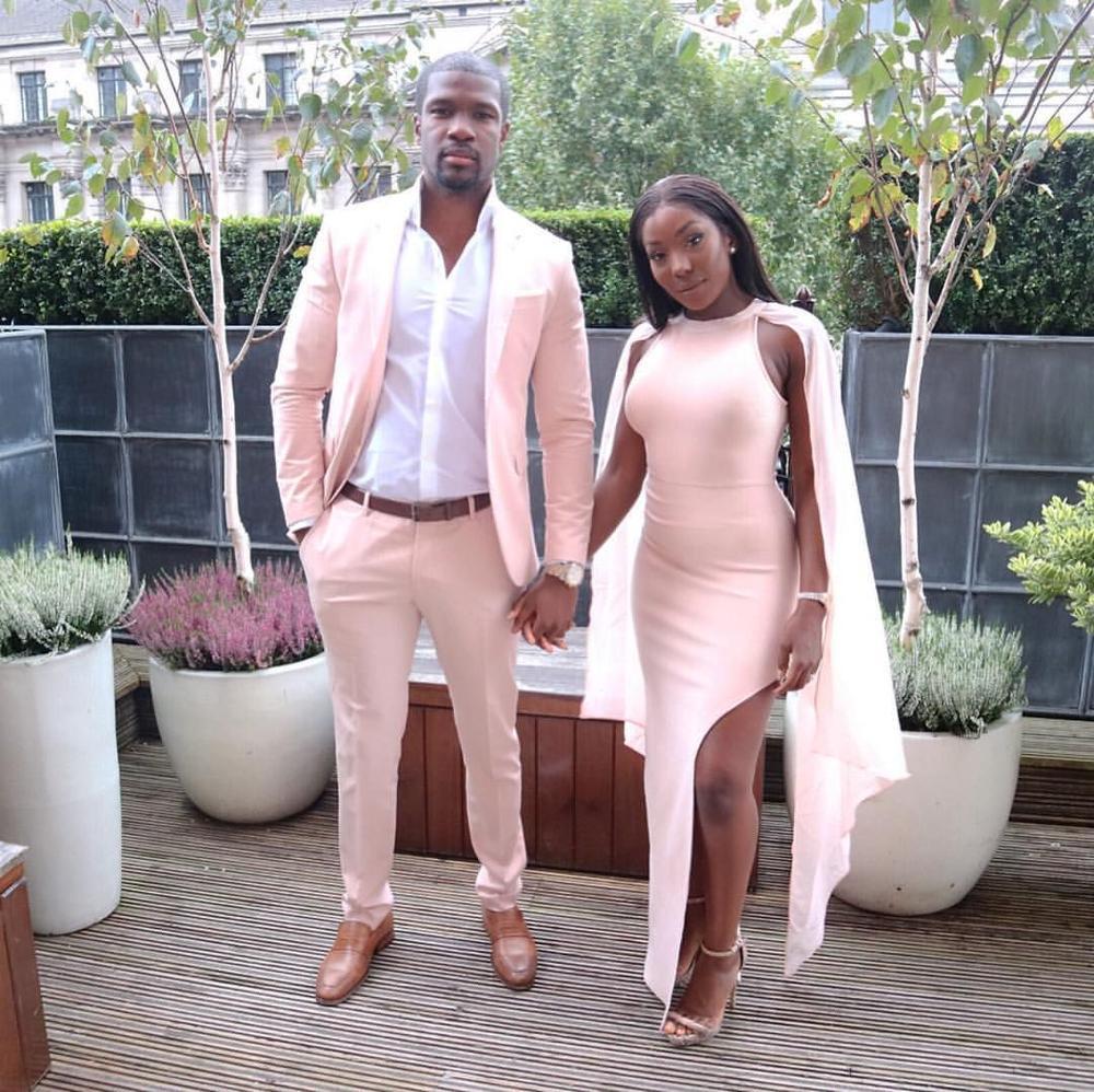 2020 Fashion Men Suits for Wedding Pink Man Blazer Groom Tuxedo 2 Piece Coat Pants Slim Fit Terno Masculino Costume Homme