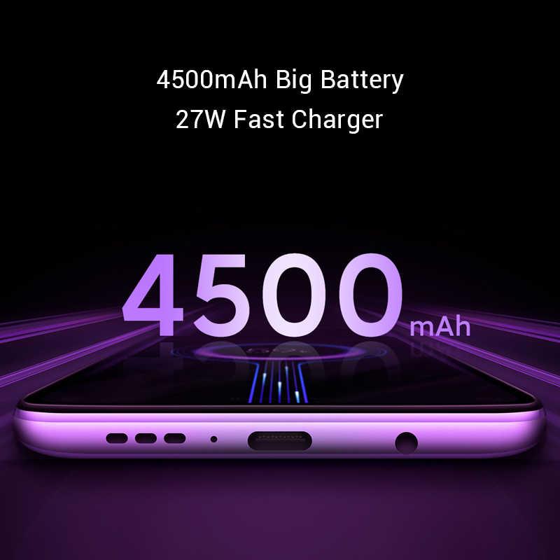 هاتف ذكي أصلي من شاومي Redmi K30 بذاكرة وصول عشوائي 8 جيجابايت وذاكرة قراءة فقط 128 جيجابايت وذاكرة وصول عشوائي 4 جيجابايت ومعالج سنابدراجون 730 جيجابايت ومعالج ثماني النوى وشاشة 6.67 بوصة وبطارية 4500 مللي أمبير/الساعة وكاميرا بدقة 64 ميجابكسل + 20 ميجابكسل وستة كاميرات مع خاصية NFC