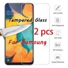 2 pcs! 9H Smartphone Protective Glass for Samsung J8 J7 J6 J4 Plus J3 Tempered Glass for Galaxy Note 7 5 4 3 2 Screen Protector protective clear screen protector for samsung galaxy note 3 n9000 n9005 transparent 3 pcs