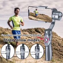 Orsda H4 Axis Handheld Gimbal Smartphone For tik tok Action Gopro Camera phone Stabilizer Cellphone Video Record