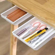 Самоклеящийся поднос для карандашей ящик хранения коробка отделки