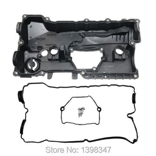 X AUTOHAUX Engine Valve Cover for BMW E81 E88 E90 E91 E60 X1 E83 X3 E84 Z4 N46 11127555212