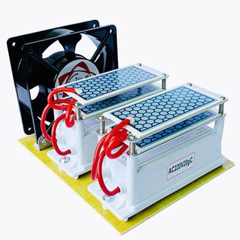 220V 110V 20g 10G potężny ozonizator ceramiczny Generator ozonu ozonator ozonu podwójna zintegrowana płyta ceramiczna ozonizator oczyszczacz powietrza tanie i dobre opinie UIPOY 50m³ h 40 w 220 v 20g h 11-20 ㎡ Przenośne 99 20 Źródło A C 99 90 ≤35dB 1000000 sztuk m³ 10-20m ³ DO STERYLIZACJI