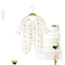 Newborn Baby Boy Girl Romper Clothes One-Piece Thin Jumpsuit Playsuit Toddler