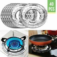 Pad Kitchen-Mat 40pcs Burner-Cover Cover-Liner Stove-Protector Safe Gas Non-Stick Aluminum