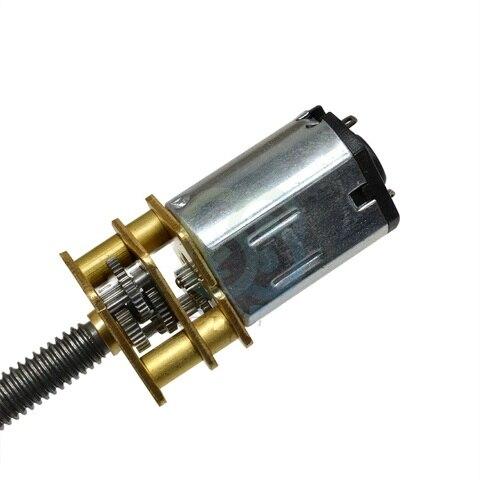 motor diminuto diy dc com eixo de 100mm comprimento