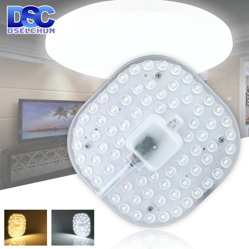 LED Ceiling Lamps Module 12W 18W 24W 36W 2835SMD AC220V LED Light Replace Ceiling Light Source Easy Installation Indoor Lighting