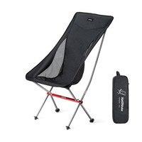 NH18Y060 Z NH في الهواء الطلق كرسي متحرك قابل للطي خفيفة سبائك الألومنيوم للطي القمر كرسي التخييم الصيد شواء كرسي الشاطئ-في كرسي للتخييم من الرياضة والترفيه على