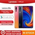 Lenovo Z5s Z5 S смартфон с восьмиядерным процессором Snapdragon 710  6 3 дюйма  Android P